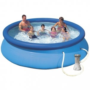 Intex Piscina Easy Set cu Pompa de Filtrare 366 x 76 cm
